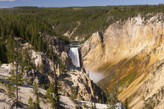 Dramatic Falls on a Summer Day Royalty Free Stock Photography