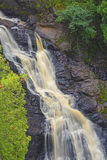 Dramatic Falls in the Wilderness Royalty Free Stock Image