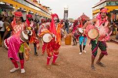 Dramatic folk dance performance Royalty Free Stock Photo