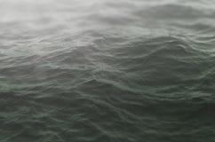 Dramatic grey sea waves close up stock photos