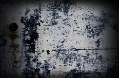 Dramatic grunge painted with white color wall Royalty Free Stock Images
