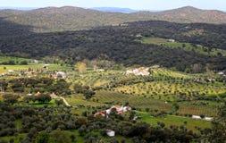 Dramatic hillside at Evoramonte Stock Image