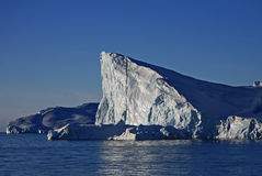 Dramatic Iceberg, Greenland Stock Image
