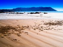 Dramatic Indian beach landscape background. Hd horizontal spacedrone808 orientation vivid vibrant bright color rich composition design concept element object royalty free stock images