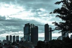 Dramatic Jakarta Royalty Free Stock Image