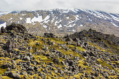 Dramatic landscape in Iceland. Royalty Free Stock Images