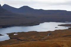 Dramatic landscape near Stac Pollaidh Stock Image