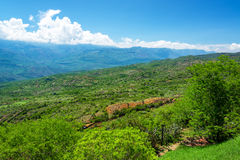 Dramatic Landscape in Santander, Colombia Stock Images