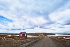 Dramatic landscape in Scandinavia Royalty Free Stock Photos