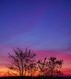 Dramatic landscape sunset Stock Photo