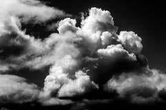 Dramatic large storm clouds gather. Stock Photos