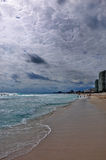Dramatic light in cancun Stock Image