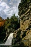 Dramatic Linville Falls in North Carolina stock photo