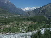 Dramatic Manali landscape Royalty Free Stock Photo
