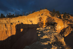 Dramatic Morning in Bryce National Park Royalty Free Stock Photo