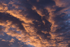 Dramatic Morning Sunrise Clouds 1 Royalty Free Stock Images