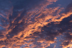 Dramatic Morning Sunrise Clouds 2 Stock Photos