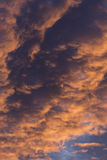 Dramatic Morning Sunrise Clouds 3 Stock Photography