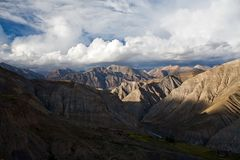 Dramatic Mountain landscape Royalty Free Stock Images