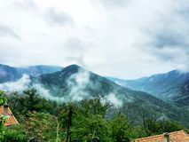 Dramatic Mountain landscape Stock Photos