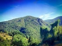 Dramatic Mountain landscape Stock Image