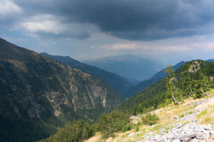 Dramatic mountain landscape Royalty Free Stock Photography