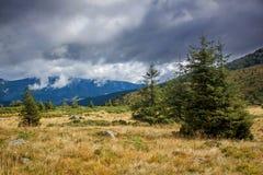 Dramatic mountain landscape Stock Images