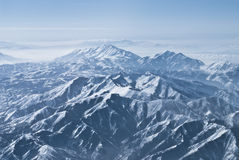 Dramatic mountain ranges Royalty Free Stock Image