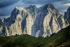 Dramatic mountain ridge Royalty Free Stock Photos
