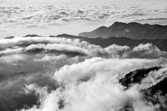 Dramatic mountain scenery Stock Photos