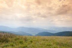 Dramatic mountains landscape Stock Photos