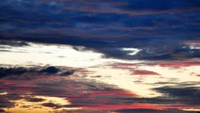 Dramatic Morning sky at Sunrise. Dramatic panorama morning sky atnsunrise.The clouds are burning by the sun. Sunset. Fire Royalty Free Stock Photo