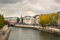 Dramatic Paris scene Royalty Free Stock Photos