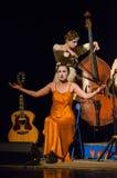 The dramatic performance of Antigone Stock Photo