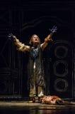 The dramatic performance of Antigone Stock Photography