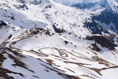 Dramatic and picturesque morning scene. Location famous resort Grossglockner High Alpine Road, Austria. Europe. Stock Photo