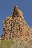 Dramatic Pinnacle in the Desert Royalty Free Stock Photo