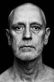 Dramatic Portrait of Man Stock Image
