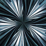 Dramatic Radial wavey glass star pattern stock photography