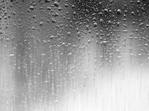 Dramatic raining on the window glass background royalty free stock image