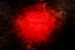 Dramatic Red Grunge Background Royalty Free Stock Photography