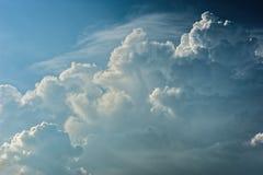 Dramatic relief cloudscape Stock Photo