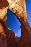 Dramatic Rock Formation at Arches National Park Royalty Free Stock Photo