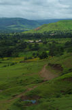 Dramatic Satara village landscape-VI Royalty Free Stock Photo