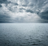 Dramatic ocean scene Royalty Free Stock Photography