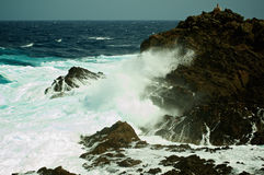 Dramatic Sea Waves Stock Photo
