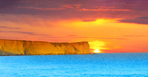 Dramatic seascape Royalty Free Stock Photography