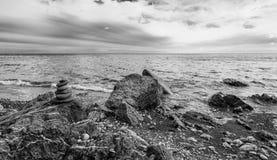 Dramatic seascape Stock Photo