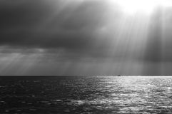 Dramatic seascape Stock Image