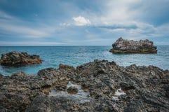 Dramatic seascape Stock Image